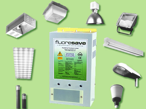 Fluoresave works with a wide variety of discharge lighting types to reduce lighting costs